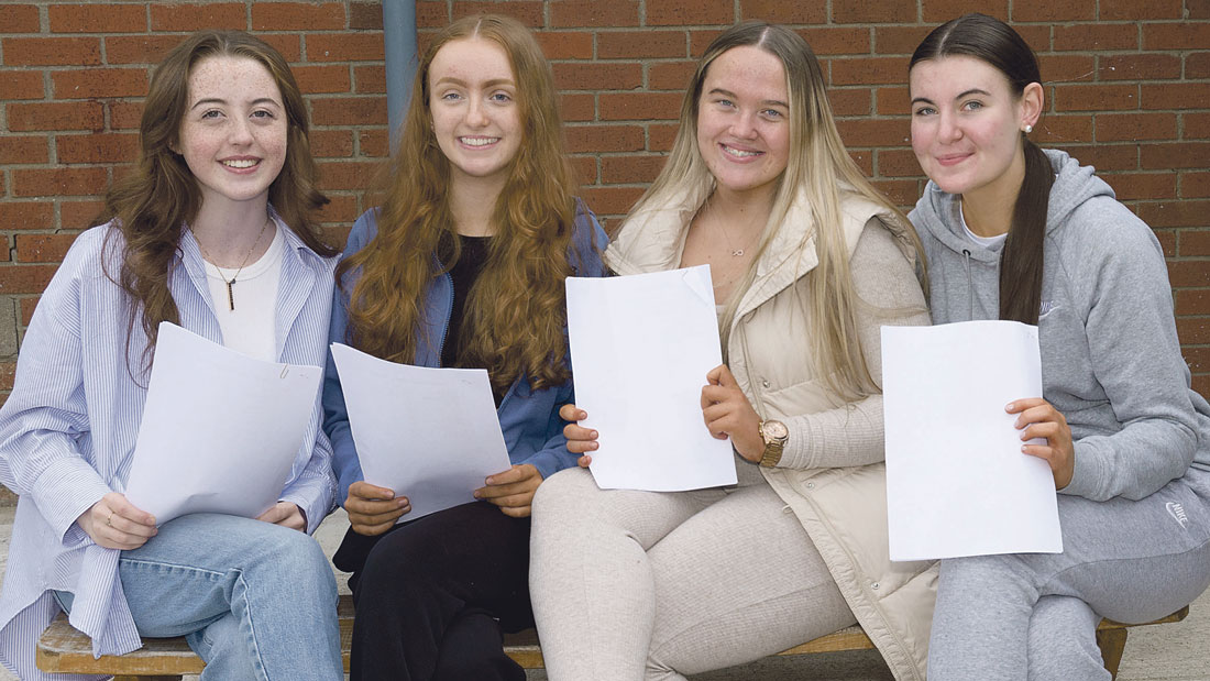 Challenging year for students finishes with smiles all round