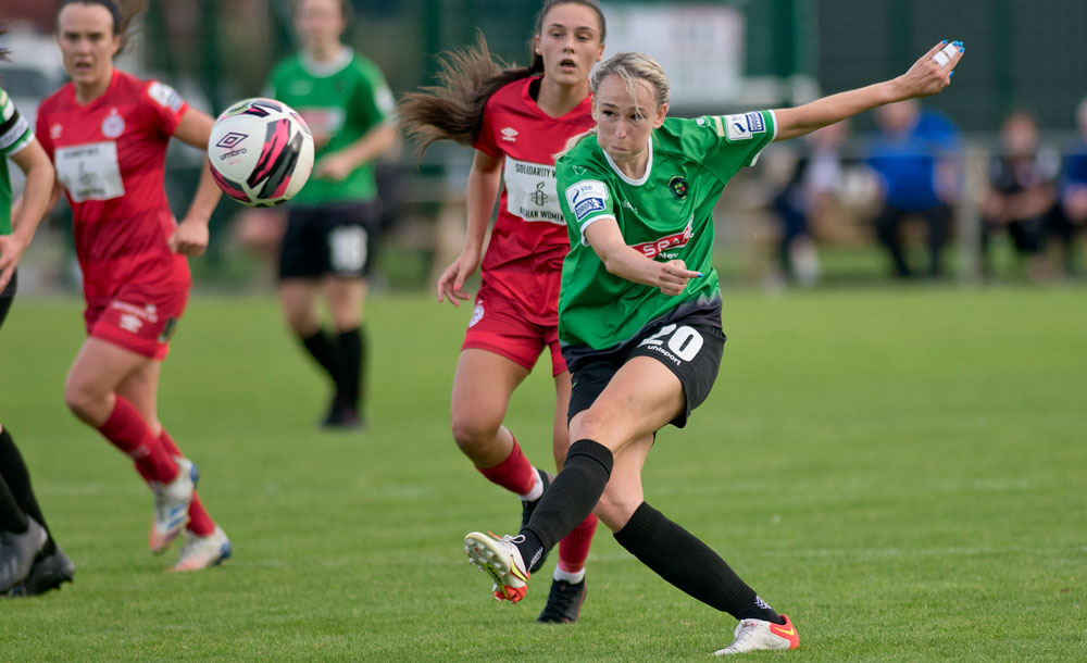 Peamount put Shels to the sword in massive WNL clash