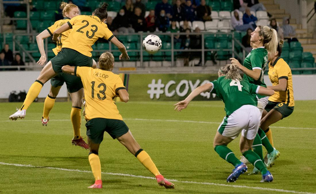 Quinn produces a winner for Ireland against Australia in Tallaght friendly
