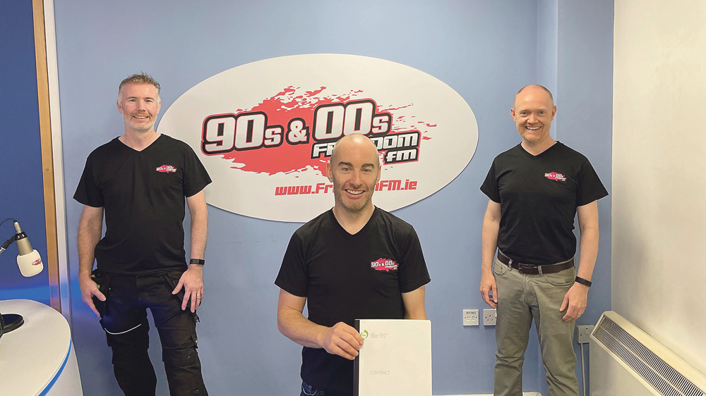 Freedom FM back on the air after 18 years since last radio broadcast