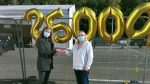 250,000th swab test carried out at Citywest Testing Centre
